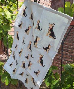 Trockentuch Yorkshire Terrier Sweet William Designs