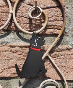 Schlüsselanhänger / Taschenschmuck Black Labrador