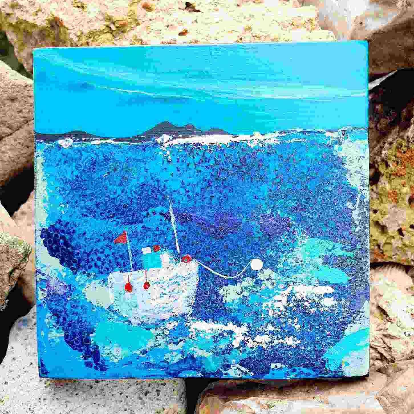 Morag Lloyds, Fischerboot, schottische Künste, Hebriden