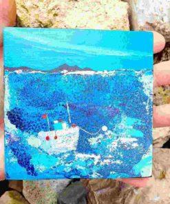 Fischerboot vor der schottischen Küste * Moral Lloyds