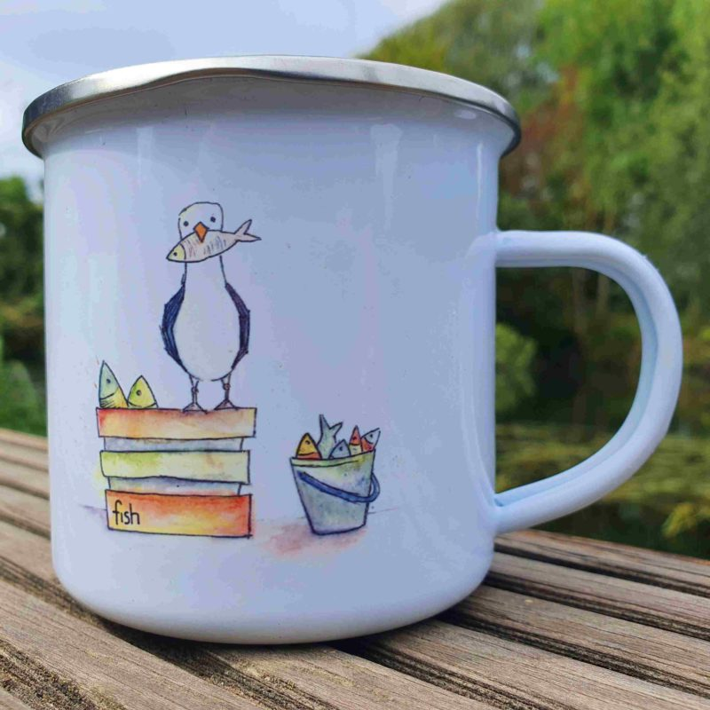 Emallie Tasse Cheeky Seagull Catherine Redgate