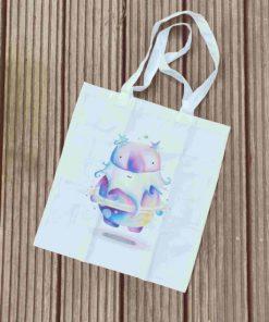 Einkaufstasche mit Himmelsgeist von Catherine Redgate