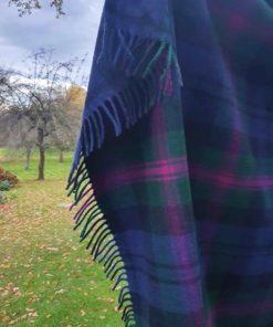 Tartan Decke Clan Baird Wollmischung