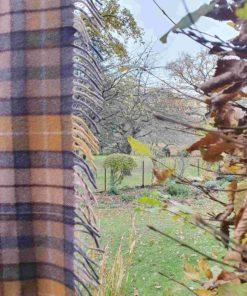Tartan-Decke Buchanan Natural * Wollmischung
